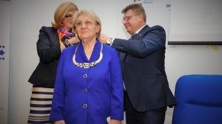 Ana Pascu, distinsă cu Colanul de Aur al COSR pentru întreaga activitate