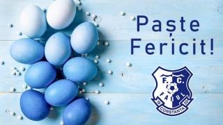 """Un mesaj din suflet din partea FC Farul: """"Paște Fericit și Sărbători Liniștite!"""""""