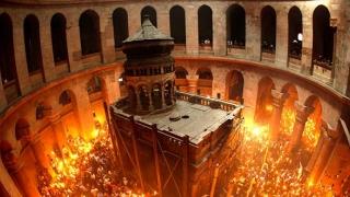 Paştele catolic, sărbătorit la Biserica Sfântului Mormânt din Ierusalim