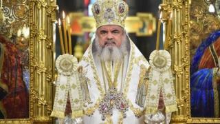 Patriarhul Daniel a efectuat prima slujbă la Catedrala Mânturii Neamului