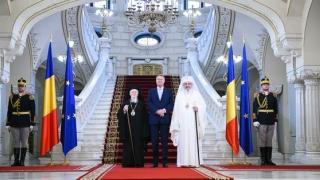 Președintele Iohannis a primit vizita Patriarhilor Bartolomeu şi Daniel