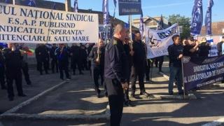Angajați ai Penitenciarului Rahova, în protest timp de două ore