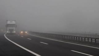 Pericol! Autostrada Soarelui, umedă și în ceață
