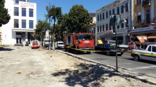 Pericol de incendiu în centrul Constanței! S-a spart o conductă de gaze!