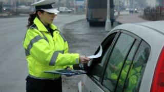 Peste 200 de permise reținute în urma controalelor la transportatorii de persoane şi elevi