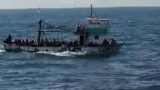 Alertă în portul Constanța ! Pescadorul care transporta migranți s-a scufundat!