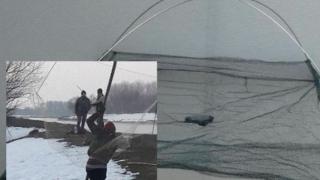 """Pescuit nesportiv la """"apă caldă"""", la Cernavodă!"""