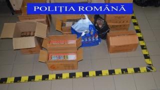 Peste 11.000 de kilograme de articole pirotehnice, confiscate de autorități