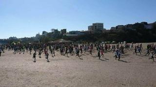 Peste 900 de iubitori ai mişcării la Crosul Mării Negre