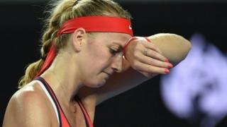 Petra Kvitova, rănită de un hoț în propria casă