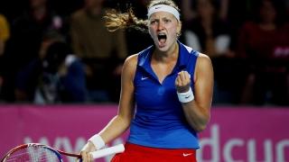 Petra Kvitova a abandonat la Shenzhen