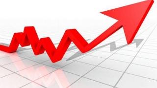 Creștere a PIB în primul trimestru, față de trimestrul anterior