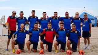 Opt constănţeni joacă pentru România în Liga Europeană de fotbal pe plajă