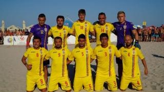 România a învins de două ori Bulgaria, la fotbal pe plajă