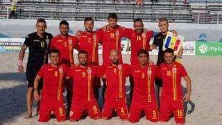 Victorie la scor pentru România la fotbal pe plajă