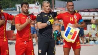 Reprezentativa de fotbal pe plajă a României, în cantonament la Eforie Nord