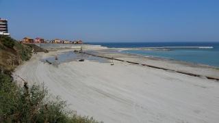 Zi decisivă pentru cel de-al doilea proiect de extindere a plajelor