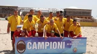 AS Performer Constanța şi-a păstrat titlul național la fotbal pe plajă