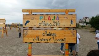 Premieră la Constanța! Plajă terapeutică pentru persoanele cu dizabilităţi