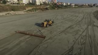 Plajele litoralului se vor extinde în larg cu până la 100 de metri