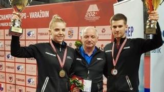 Constănţeanul Cristian Pletea, dublu campion european U21 la tenis de masă