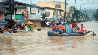 Peste 70.000 de persoane strămutate în urma ploilor musonice, în Filipine