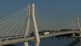CNAIR anunță licitația pentru construcția Podului suspendat de la Brăila