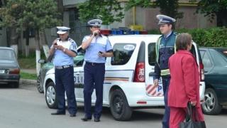 Poliția rutieră în misiune. Ce a mai descoperit în trafic