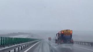 Poliția informează că pe A2Bucureşti – Constanţa şi peA4Ovidiu - Agigea se circulă în condiții de iarnă