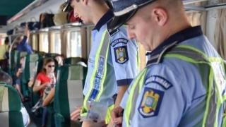 ACȚIUNI ALE POLIȚIȘTILOR DE LA TRANSPORTURI
