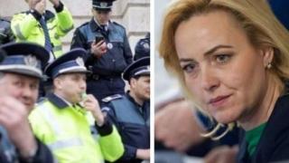 Polițiștii o acuză pe Carmen Dan că vrea militarizarea și controlul asupra Poliției