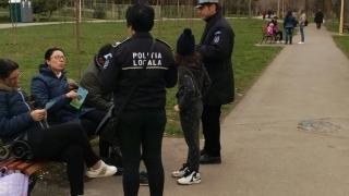 Polițiștii locali din Constanța au înlocuit amenzile cu... pliante informative