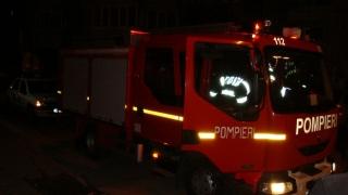 Un autoturism a luat foc în Constanța!