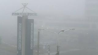 Infotrafic: Portul Constanța, închis din cauza ceții dense