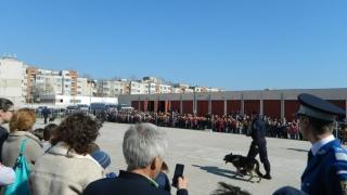 Îmbulzeală la Ziua Porților Deschise, la Inspectoratul de Jandarmi Constanța