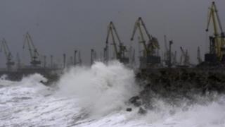 Porturile Midia, Constanța Nord și Constanța Sud, închise din cauza vântului puternic