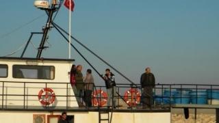 Un pescador turcesc s-a scufundat în Portul Constanţa