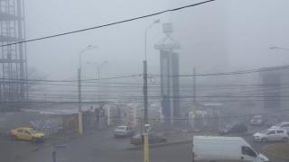 Porturile din Constanţa, închise din cauza ceţii