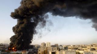 Poziţii militare ale Hamas, lovite de armata israeliană
