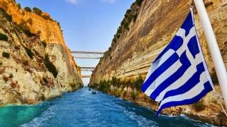 Premieră pe mare! Bricul Mircea a traversat Canalul Corint