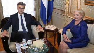Premierul României, întâlnire importantă cu șeful Guvernului croat