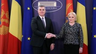 Premierul României, întâlnire importantă cu un lider muntenegrean