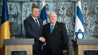 Iohannis s-a întâlnit, la Ierusalim, cu președintele și premierul Israelului
