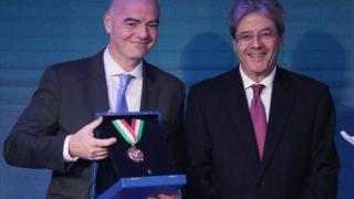 Președintele FIFA exclude varianta ca Italia să meargă la CM 2018