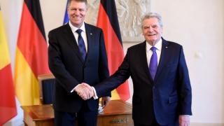 Președintele Germaniei, în vizită în România