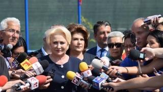 """Dăncilă: """"Președintele îi dezinformează pe români"""""""