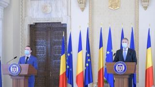 Preşedintele Klaus Iohannis l-a desemnat pe Florin Cîţu să formeze Guvernul