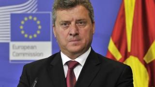 Preşedintele Macedoniei nu este de acord cu schimbarea numelui ţării! S-a trezit acu'
