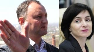Moldovenii își aleg duminică președintele: Igor Dodon sau Maia Sandu?