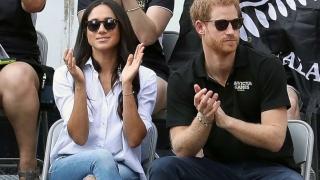 Prima apariție în public a prințului Harry cu iubita sa, Meghan Markle